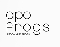 project a.f.t.r : art toy brand 'apo frogs' graphic