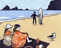 Illustrations for Coastal Living Magazine