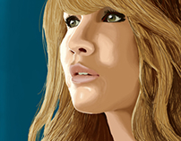 Jennifer Lawrence Digital Portrait