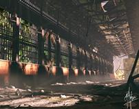 Abandoned Hanger