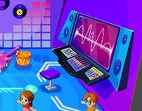 CREAPOLIS - Videogame