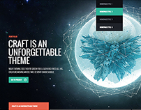 Craft - WP Theme