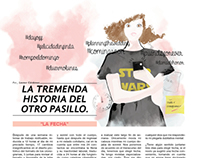 Ilustración editorial.
