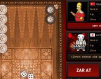 Yonja.com Backgammon Game
