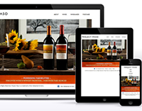 Project Paso Responsive Winery Website
