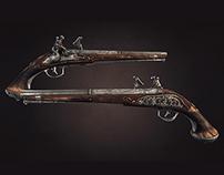 Italian Snaphance Pistol