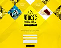 Mucs - Landing Page