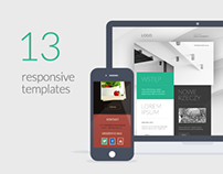 Fresh, responsive, mail templates