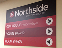 NCC Interior Directional Signs