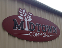 Midtown Commons Sign