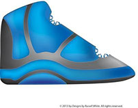 Urbanaut Elites athletic shoe design (Freelance)