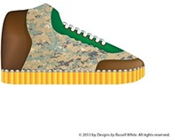 Urbanaut Top Gun casual shoe design  (Freelance)