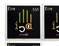 ICAD anniversary stamp