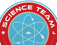 Science Team Logo Design