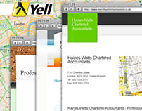 Yell.com Microsites