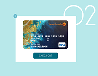 UI Challenge 002 - Credit Card Checkout