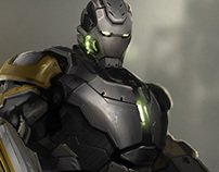 Concept Art - Iron Man 3