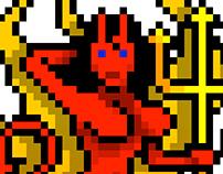 Pixel Devil-Girl