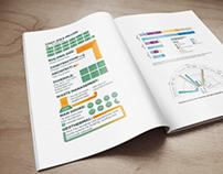 MSU College of Nursing Annual Publication Infographics