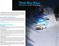 Volkswagen 24h of Tremblant Think Blue Stunt