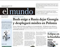 Rediseño Diario El Mundo