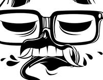 hipster rabbird