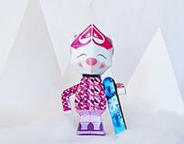 Diseño de personaje como Paper Toy