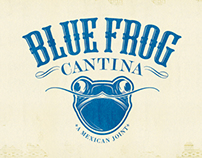 Blue Frog Cantina Identity