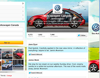 Volkswagen Mother's Day Social Media Contest