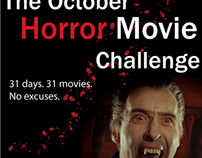 Horror Challenge Banners