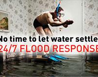 Restoration specialist website redesign