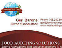 Food Auditing Solutions