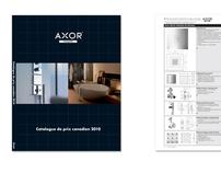 Axor Price Book Price Book