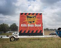 RAID insect spray