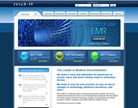MD-IT Corporate Website (2009-2012)