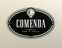 Comenda Bar & Grill Identity