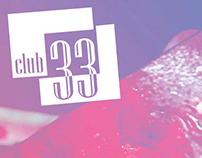 CLUB33 menu / Меню CLUB33