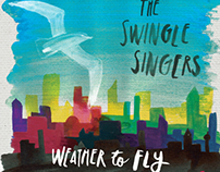 Swingle Singers – Weather to Fly CD sleeve