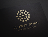 Flower Work Logo
