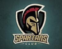 Spartans Club Identity
