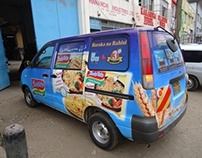 Indomie Noodles Fleet Branding