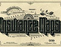 Insurance Maps Font
