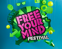 Free your mind festival 2013 // artwork