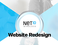 Net10 Wireless, Website Content Strategy & Wireframes