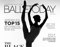BALLETODAY MAGAZINE sample pages