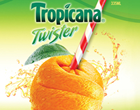 Tropicana Bottle - Packaging Design