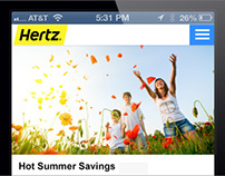 HERTZ SPECIAL OFFERS FOR MOBILE DEVICES