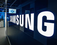 SAMSUNG - B2B Solution. Showroom Warsaw / Poland