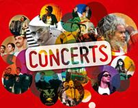 Programmation concerts - Usine à Chapeaux