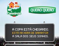 Campanha Consórcio 2013 das lojas Quero-Quero
